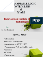 PROGRAMMABLE LOGIC CONTROLLERS AND SCADA