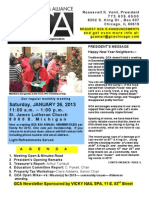 GCA January 2013 Newsletter
