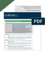 MidlandsBiz Small Biz Email Newsletter