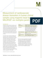Measurement of cardiovascular disease biomarkers in human clinical samples using magnetic bead-based MILLIPLEX® map multiplex panels