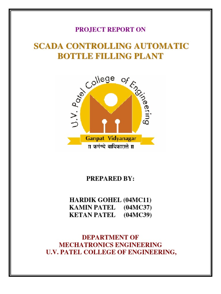 Scada controlling automatic filling plant ccuart Gallery