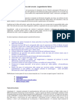 Documento programmatico del circolo  Legambiente Salve - 2013