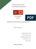 Dimensionamento de Sistemas Fotovoltaicos para Bombagem de Água