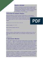 conversiones de distintas formulas