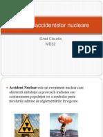 Istoricul Accidentelor nucleare