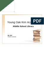 yoka library student orientation 2010-2011