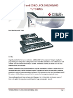 Edirol PCR Cubase