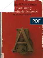 Hacia una filosofía marxista del lenguaje