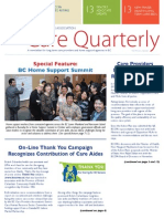 BC Care Providers Newsletter Fall/Winter 12/13