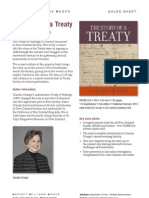 The Story of a Treaty (9781927131442) - BWB Sales Sheet