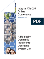 Integral City 2.0 Online Conference 2012