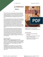 Treaty of Waitangi Settlements (9781927131381) - BWB Sales Sheet