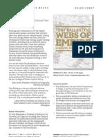 Webs of Empire (9781927131435) - BWB Sales Sheet