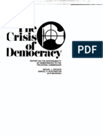 Crisis Of Democracy