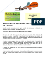 Mototaxi de Queimadas tem moto roubada em Caturité.docx