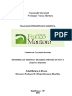 Implantação Gestão Ambiental em MPE
