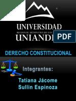 CONSTITUCIONES PERIODO MARISTA Y GARCIANO