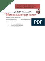 diseño de elementos de flexion