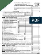 IRS Publication Form 8829