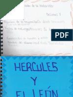 HERCULES Y EL LEÓN