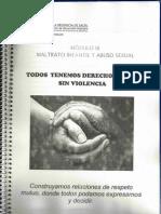 Mod. III Maltrato Infantil y Abuso Sexual Min. DDHH