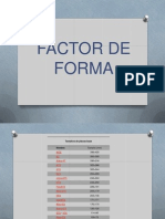 Factor forma placa base
