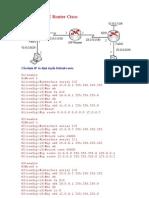 Cấu Hình GRE Router Cisco