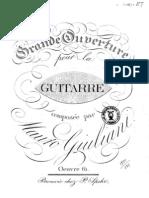 Mauro Giuliani - Gran Obertura Op. 61 en La Mayor
