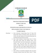 peraturan daerah bekasi 2011