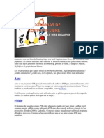 10 programas de software libre