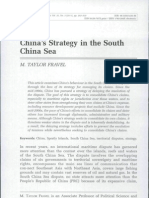 China's Strategy in the South China Sea