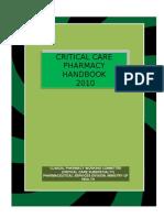 Pharmacy critical care