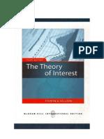 TheTheory of Interest