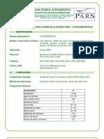 Ficha Tecnica del Sulfato de Calcio GypsumFertile
