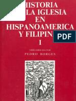 Historia de la Iglesia en Hispanoamerica y Filipinas