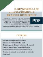 Analiza Senzoriala Si Fizico-chimica a Branzei de Burduf