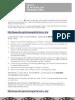 Archivo y Reducto - Andrés Mendar