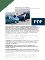 tips setelah terjadi kecelakaan