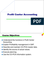 SAP Profit Center Accounting PPT