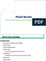 SAP Fixed Assets PPT