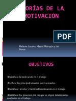 Teorias de la motivación laboral