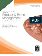 marketing product management