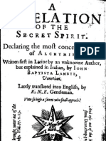A revelation of the Secret Spirit Declaring the most Concealed Secret of Alchemy - Angelo Giovan (1622)