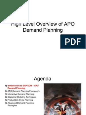 Demand Planning Pdf