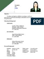 Maine Resume
