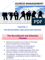 Human Resource Management (The Recruitment and Selection Process)