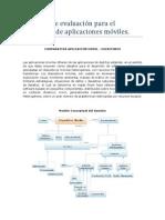 Metricas de evaluacion para aplicaciones moviles