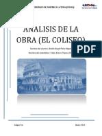 análisis del coliseo romano