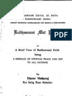 Radhasoami Mat Prakash