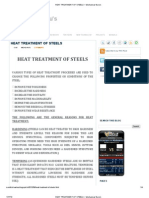 Heat Treatment of Steels ~ Mechanical Guru's